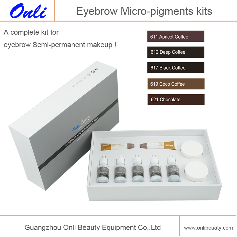 Eyebrow Micro-pigments kits